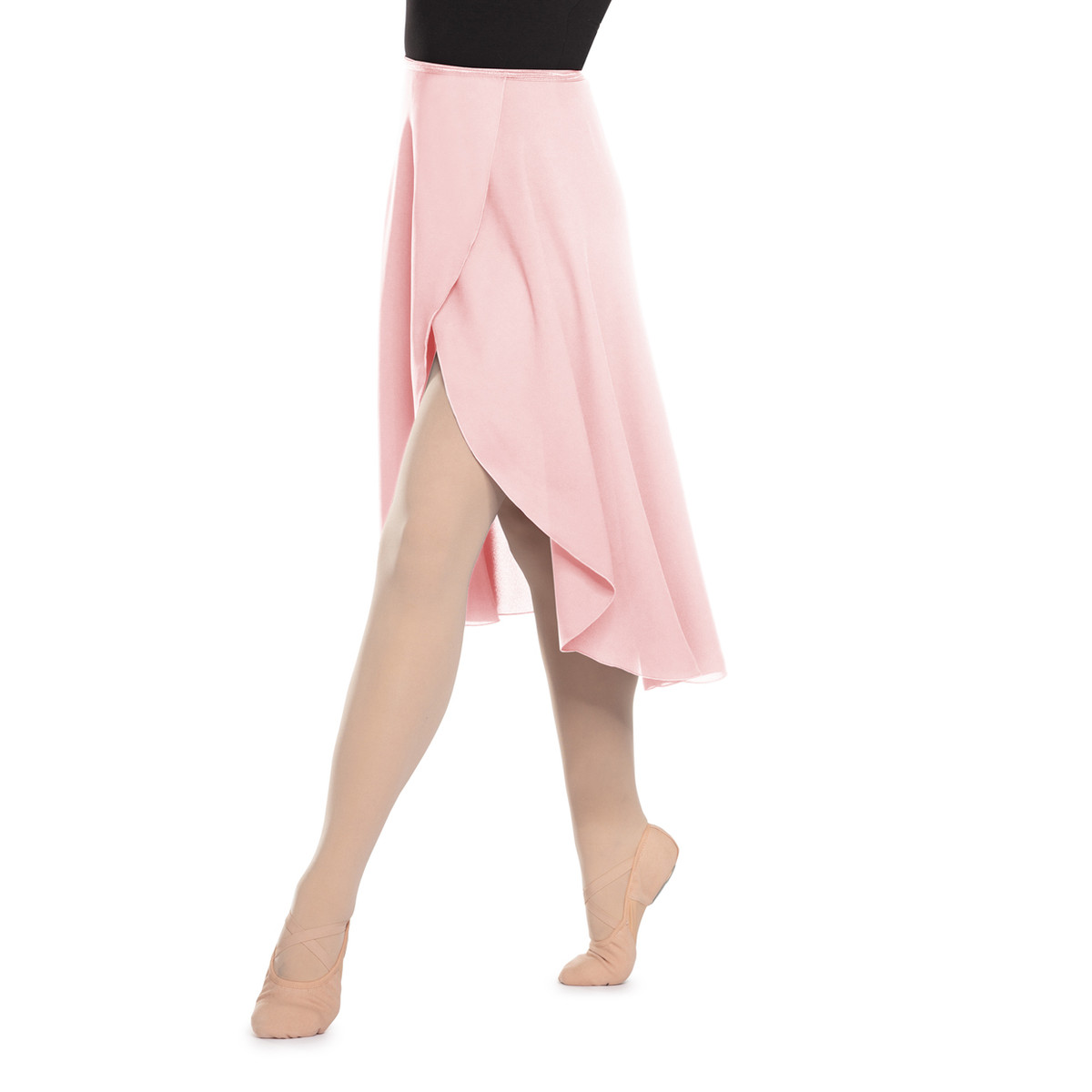 GEORGETTE LONG WRAP SKIRT