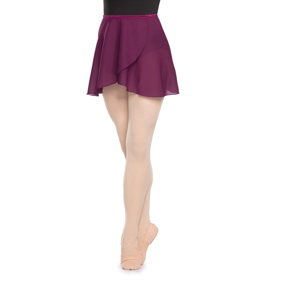 Ballet Wrap Skirt | Dark Raspberry