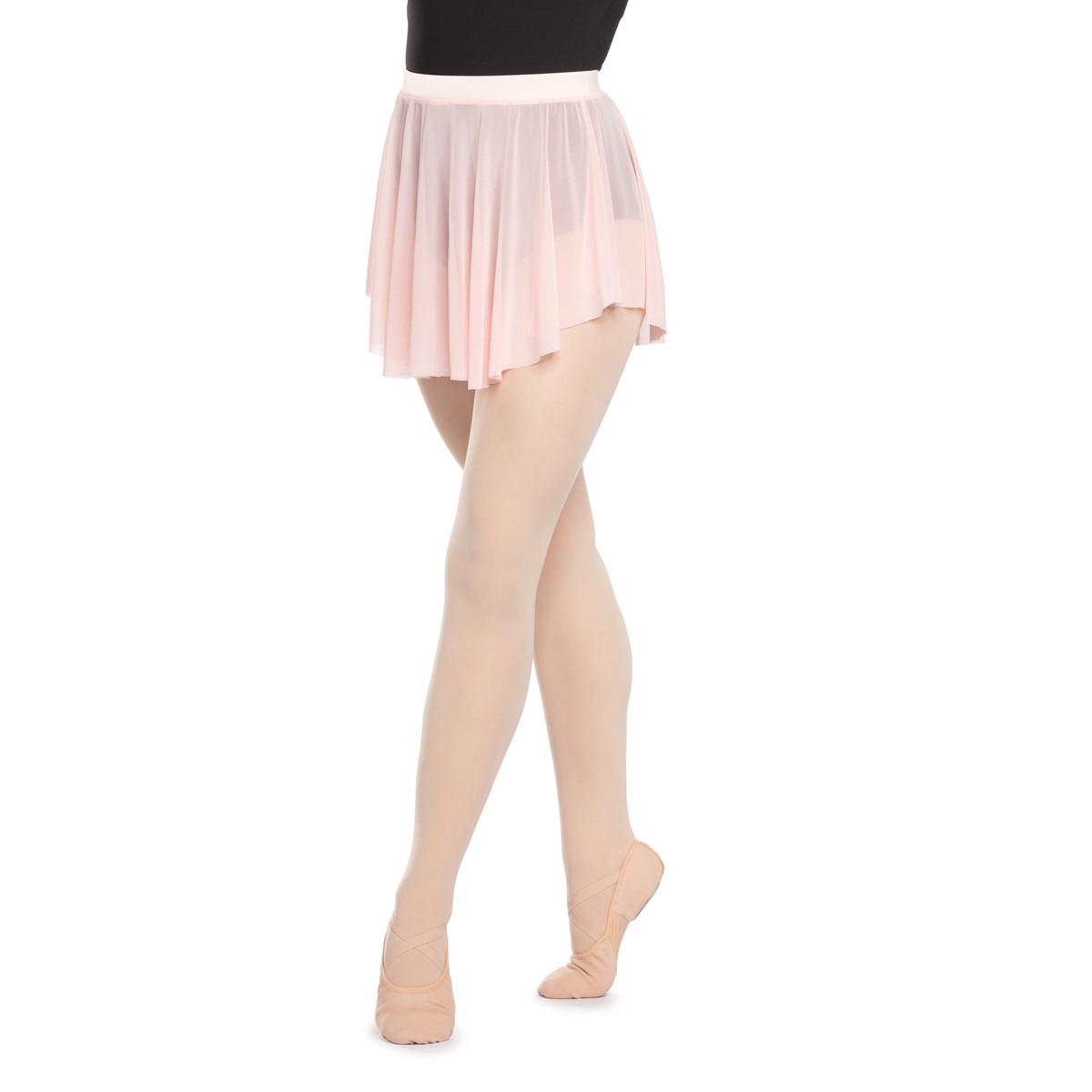Pull-On Mesh Skirt | Pink