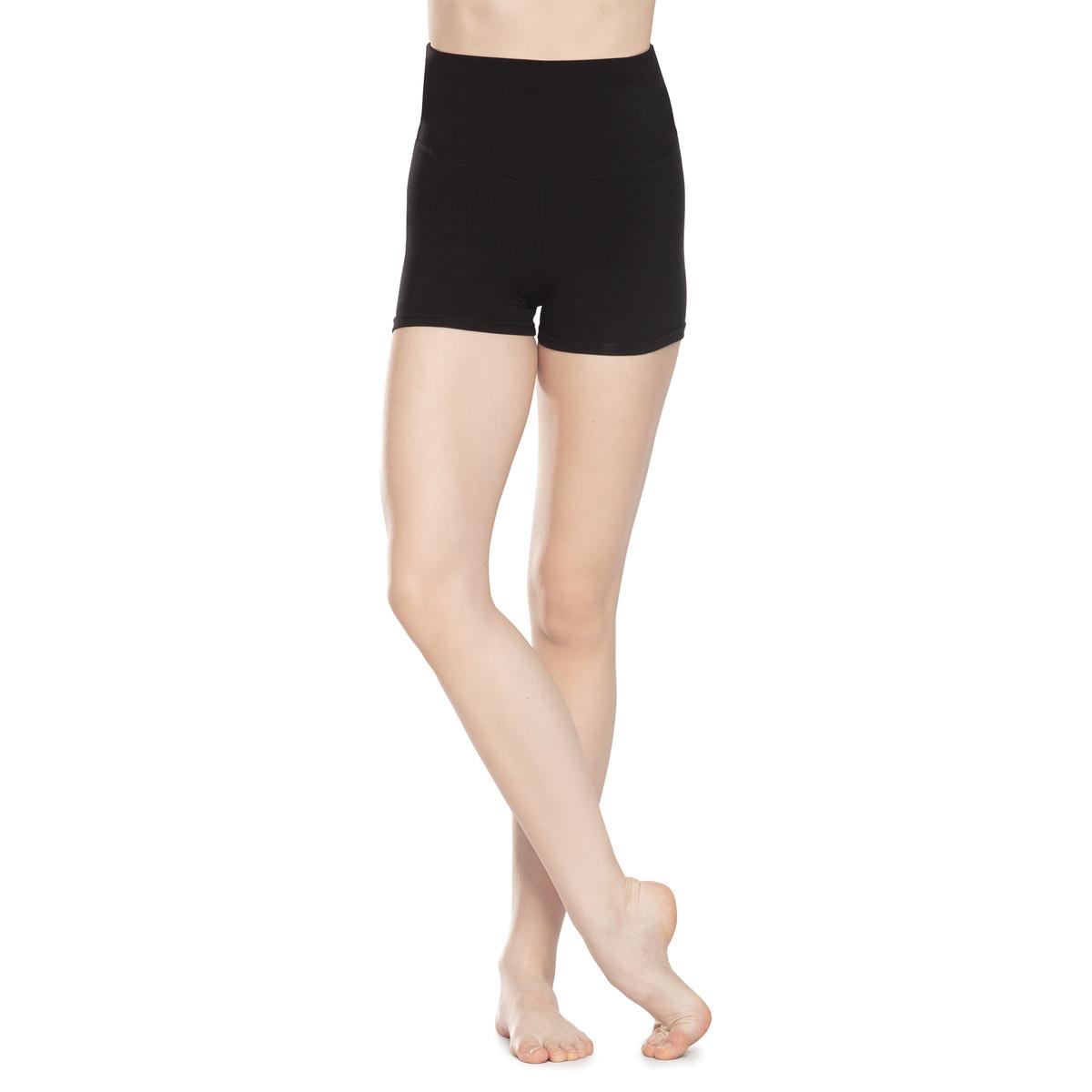 High-Waist Performance Shorts