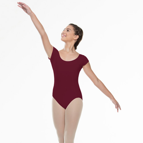 Classic Short Sleeve Leotard