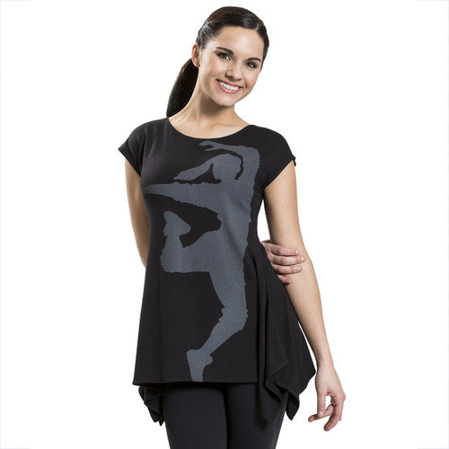 Hip Hop Graphic Tunic Tee