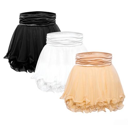 Flowing Mesh Skirt