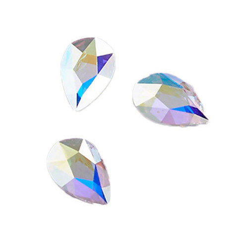 Swarovski Pear Jewel Cut Flat Back
