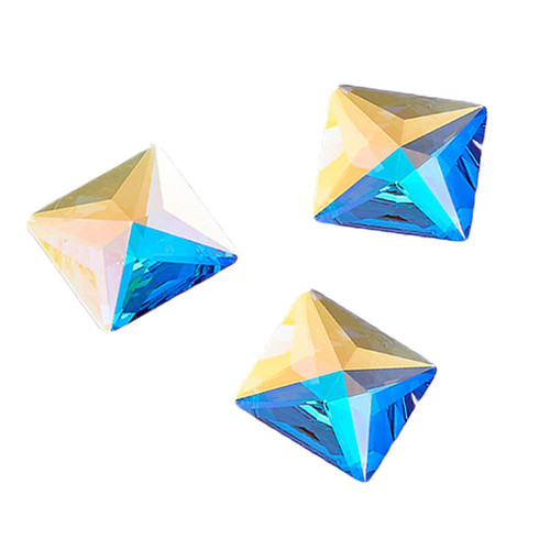 Swarovski Square Jewel Cut Flat Back