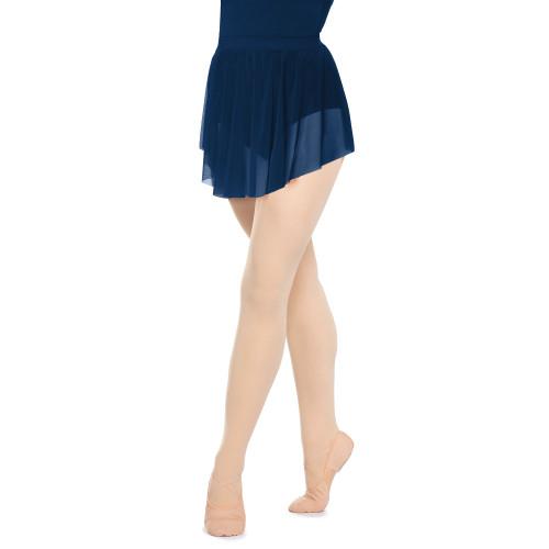 Pull-On Mesh Skirt