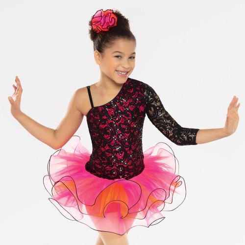 Ballet Dress Revolution Dancewear Pink /& Gold