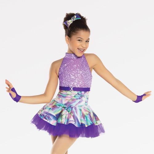 Blue Youth /& Adult Multi Piece Jazz//Tap Dance Costume