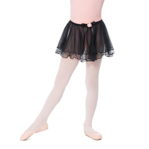 Girl'S Ballet Skirt | Black