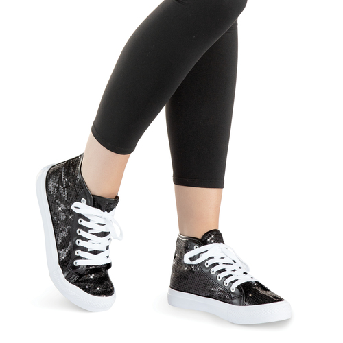 Sparkle High Top Sneaker