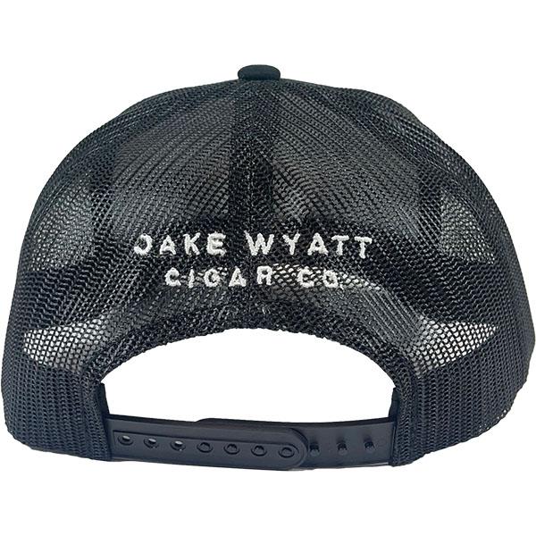 Jake Wyatt Cigar Co. - Black Camo Snapback