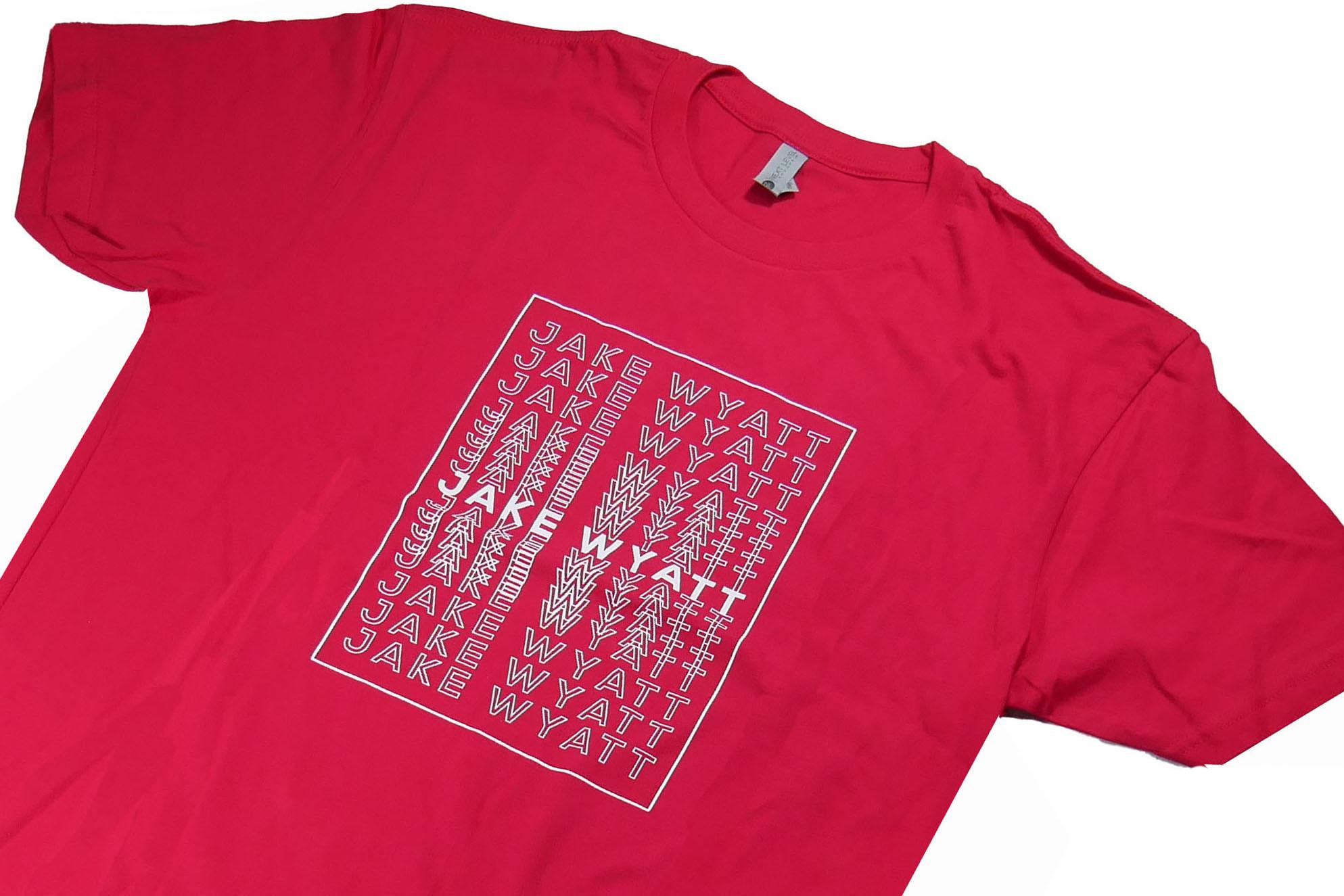 Jake Wyatt Cigar Co. T-Shirt - Red