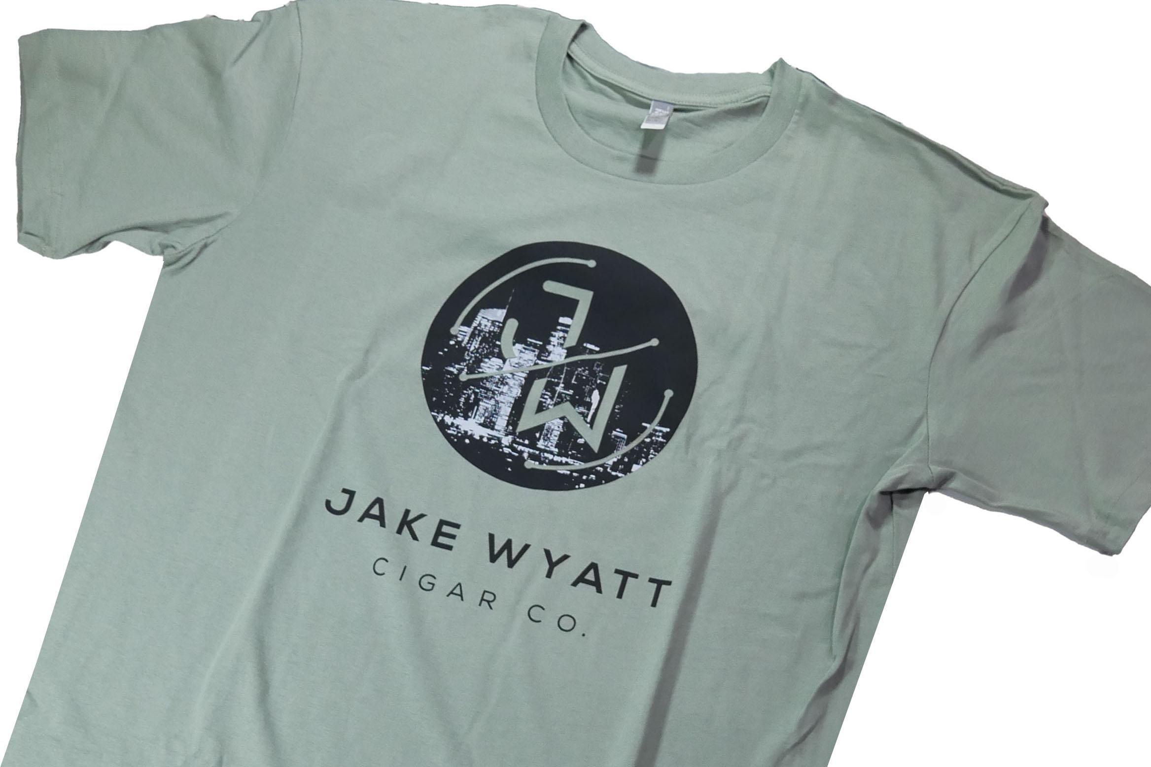 Jake Wyatt Cigar Co. T-Shirt - City Scape