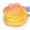 Café De N Custard Cream Puff Dessert Squishy Toy Cellphone Charm ( 45 Degree Angle )