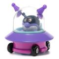 Sega Toys Anpanman Museum Go Go Mini Vehicle Carry Hero - Baikinman Germ UFO car ( Front View )