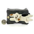 Decole Miranda Calico Cat Coins And Smart Card Pouch With Purse Strap ( Front View )