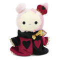 San-x Sentimental Circus Shappo Bunny Queen of Hearts Plush Doll Charms ( Font View )
