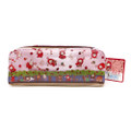 San-x Sentimental Circus Shappo Bunny Little Red Hood In Garden Pencil Case ( Front View )