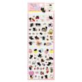 San-X Kutusita Nyanko Socks Black Cat Events Schedule Sticker SE30606 ( Front View )