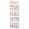 San-x Sentimental Circus Shappo Bunny Characters Events Schedule Sticker SE30605 ( Front View )