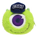 Pixar Monster University Mike Fluffy Plush Pouch ( Front View )