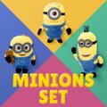 The Minions Bead Chain Charms Set - Stuart Bob Kevin ( Cover )