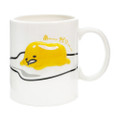 Gudetama Emboss Lazy Egg Ceramic Cup ( Front View )