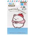 Sumikko Gurashi Iron On Patch Travel Polar Bear PSU106 ( Packing View )