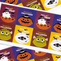 Kawaii Happy Halloween Characters Sticker 4 Sheet ( Cover )