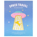 Kawaii Pink Color UFO Capturing Kitty Cat Iron On Patch ( Cover )