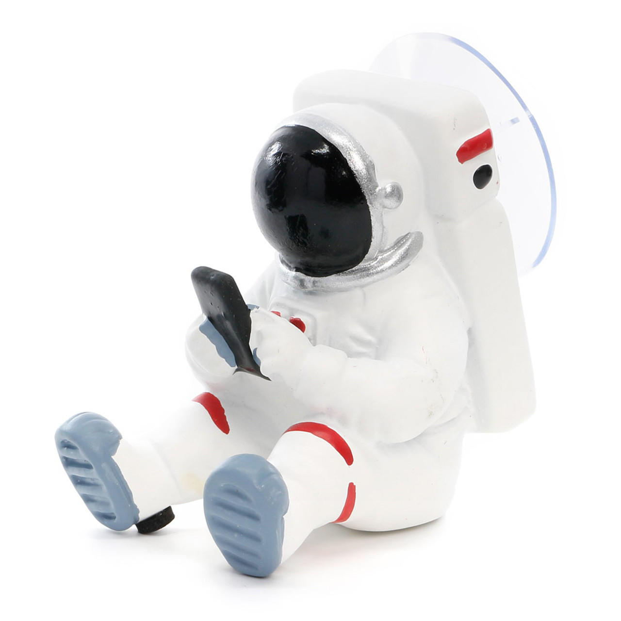 Seto Craft Motif Hand Painting Cellphone / Mobile Device Stand - Astronaut or Spaceman ( 45 Degree Angle )