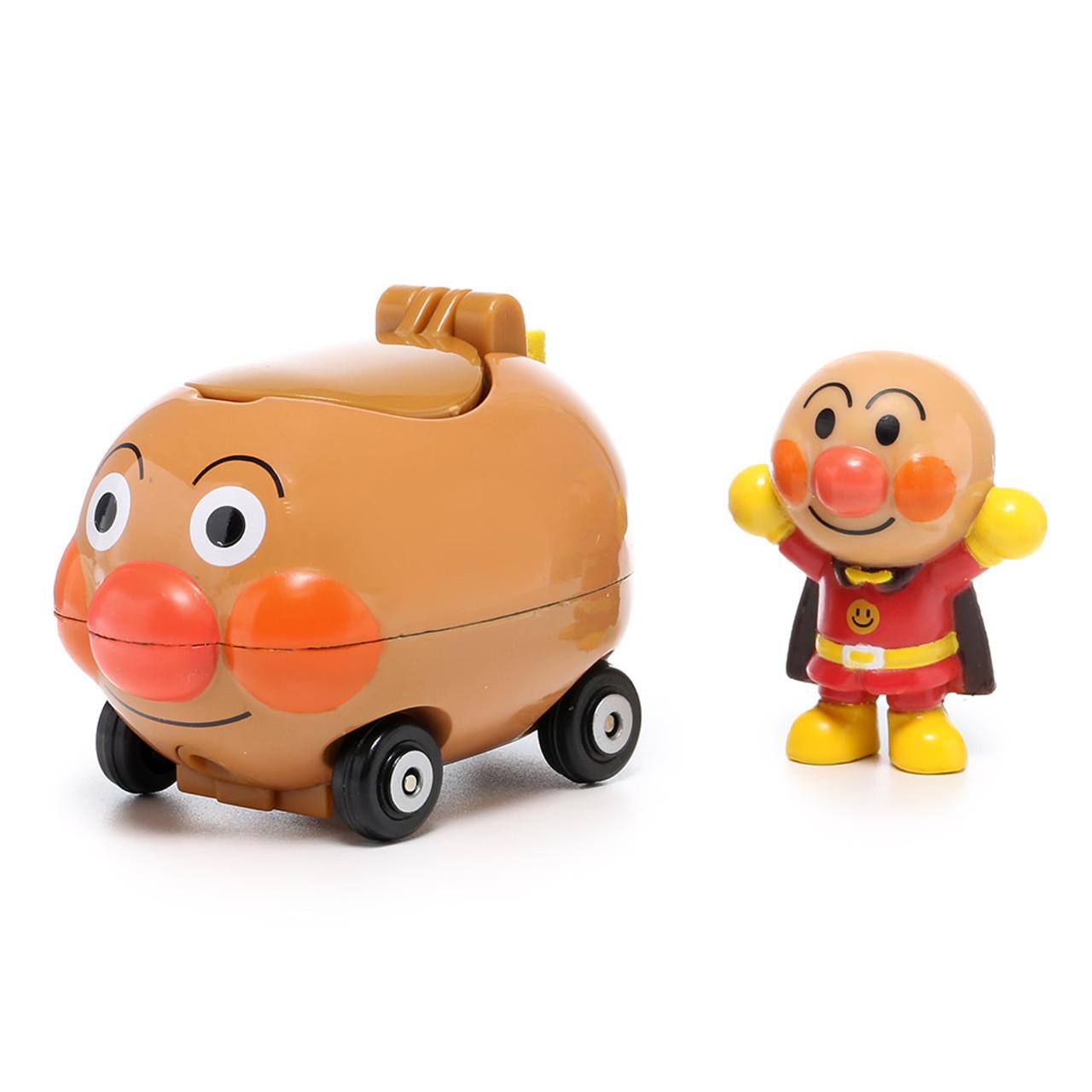Sega Toys Anpanman Museum Go Go Mini Vehicle Carry Hero - Anpanman Car ( Anpanman Front )