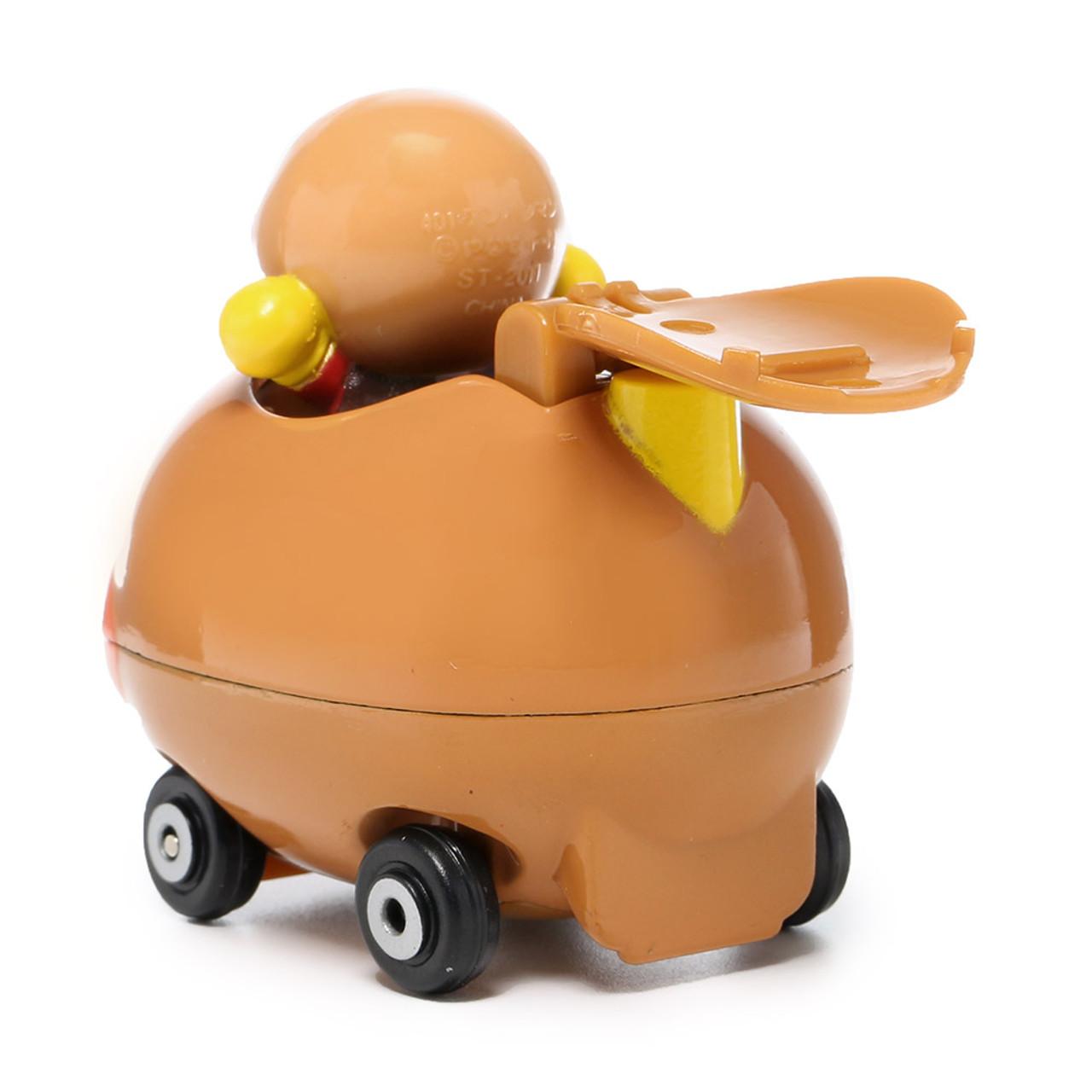 Sega Toys Anpanman Museum Go Go Mini Vehicle Carry Hero - Anpanman Car ( Back View )