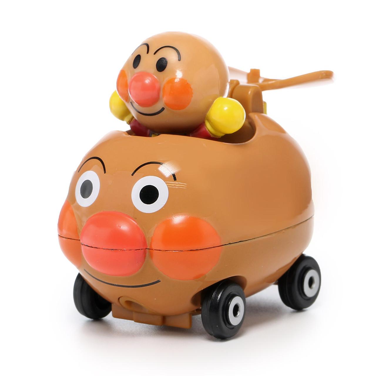 Sega Toys Anpanman Museum Go Go Mini Vehicle Carry Hero - Anpanman Car ( Front View )