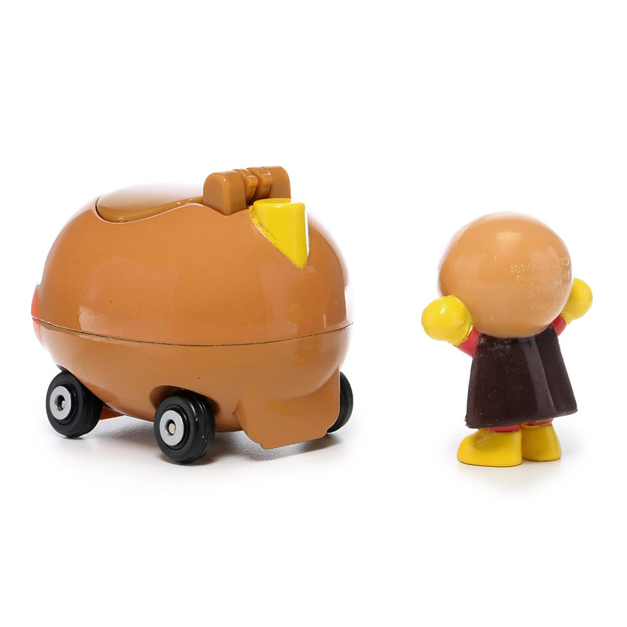Sega Toys Anpanman Museum Go Go Mini Vehicle Carry Hero - Anpanman Car ( Anpanman Back )