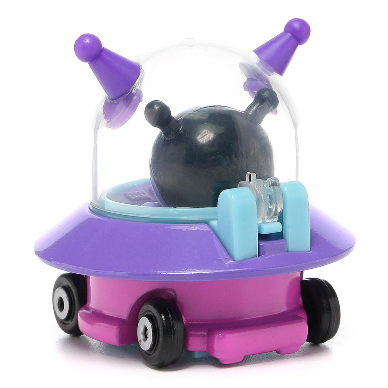 Sega Toys Anpanman Museum Go Go Mini Vehicle Carry Hero - Baikinman Germ UFO car ( Back View )