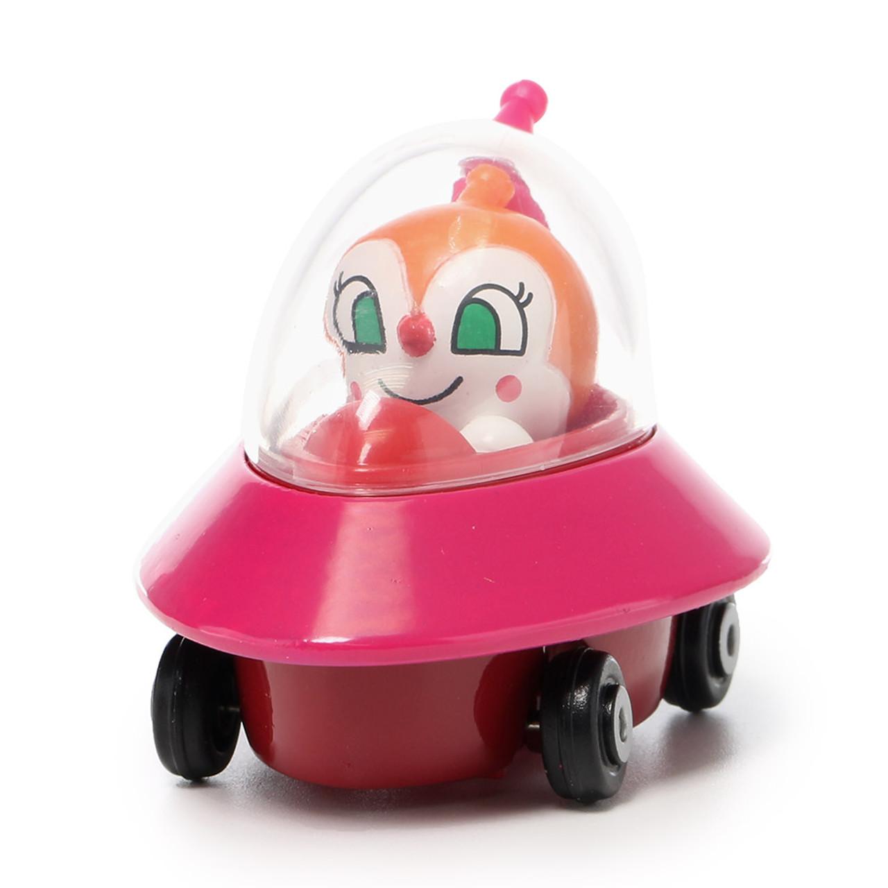 Sega Toys Anpanman Museum Go Go Mini Vehicle Carry Hero - Dokin-chan UFO car ( Front View )