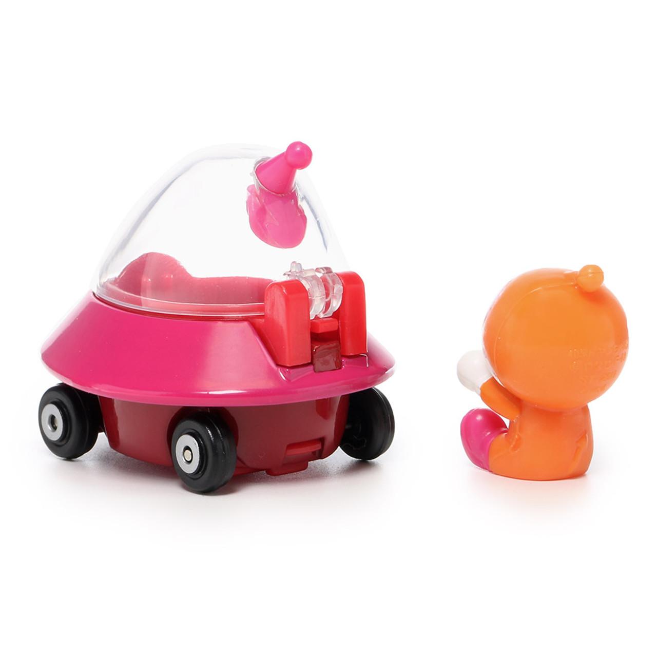Sega Toys Anpanman Museum Go Go Mini Vehicle Carry Hero - Dokin-chan UFO car ( Dokin-chan Back )
