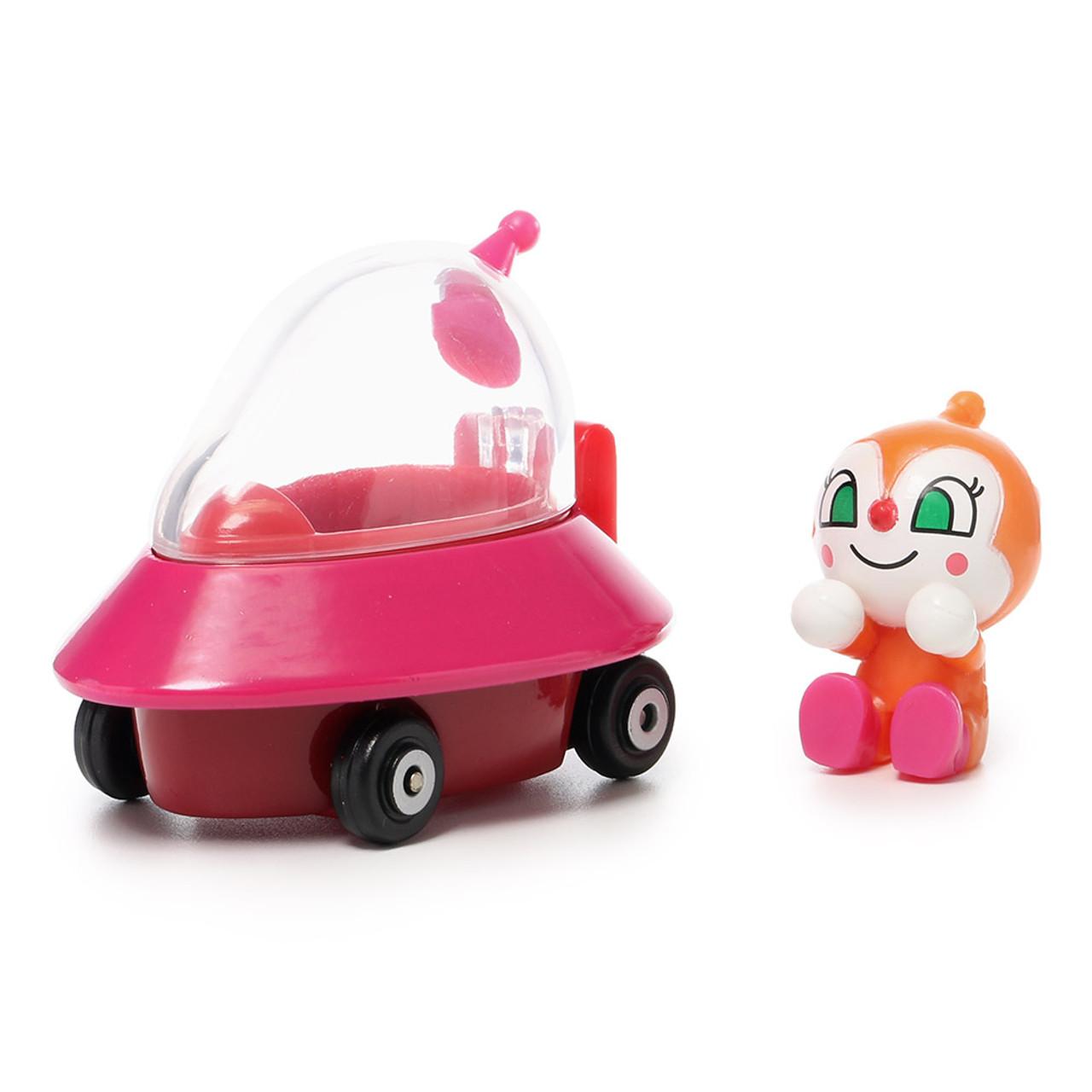 Sega Toys Anpanman Museum Go Go Mini Vehicle Carry Hero - Dokin-chan UFO car ( Dokin-chan Front )