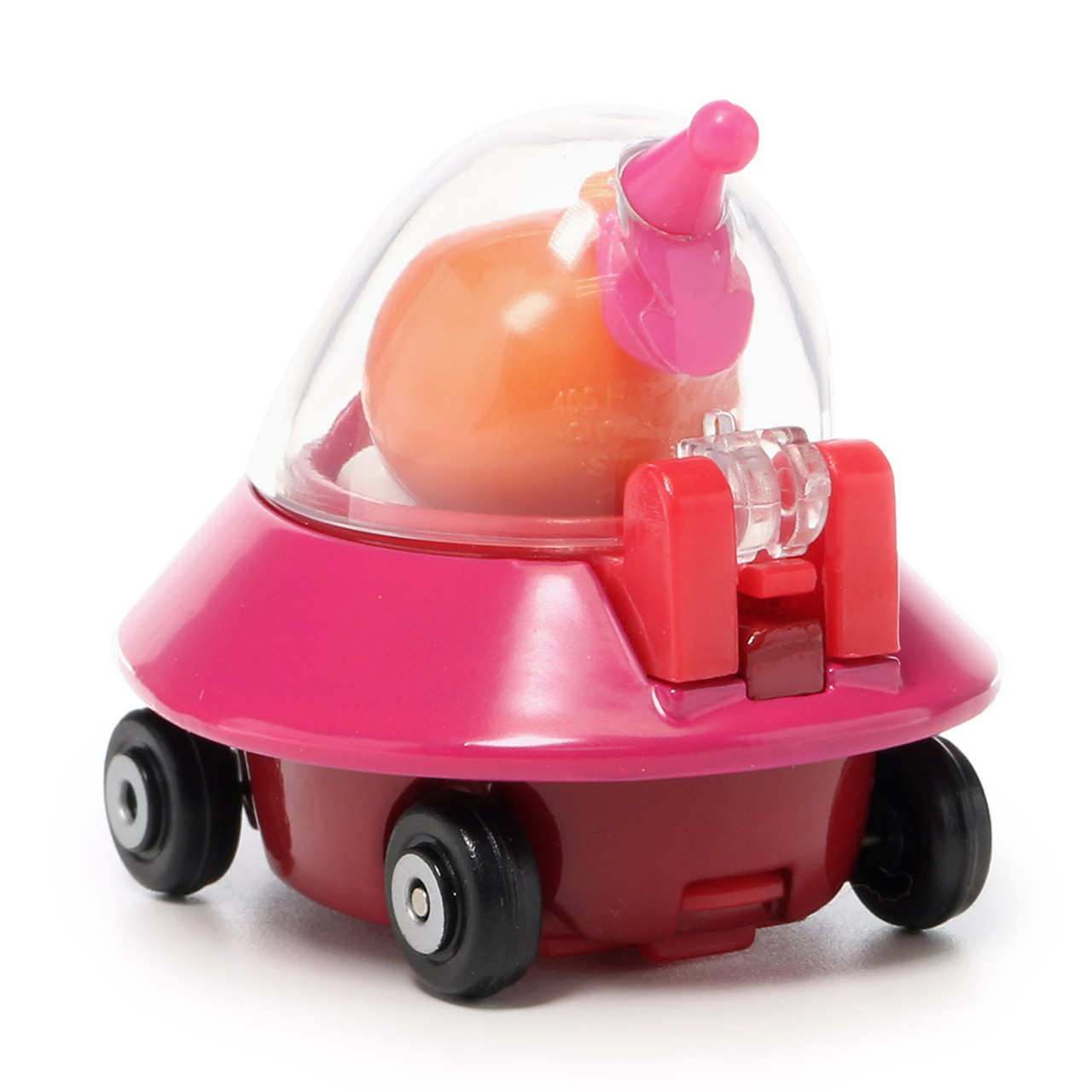 Sega Toys Anpanman Museum Go Go Mini Vehicle Carry Hero - Dokin-chan UFO car ( Back View )