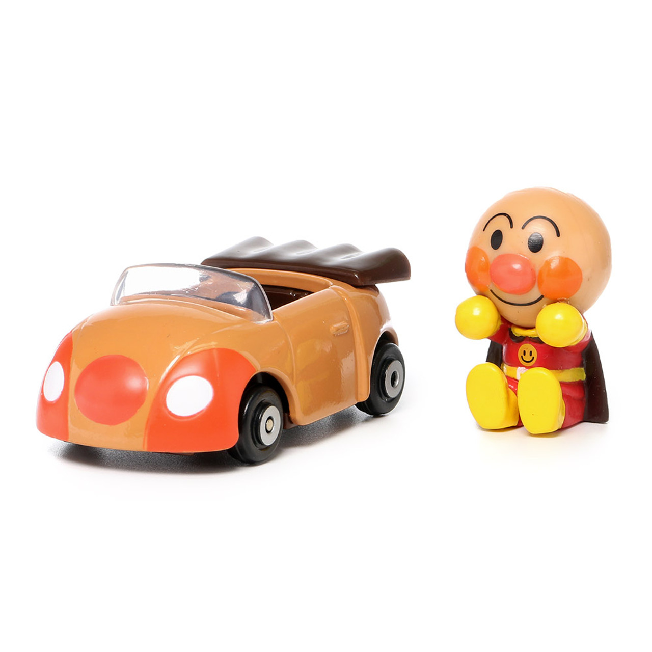 Sega Toys Anpanman Museum Go Go Mini Vehicle Carry Hero - Anpanman Roadster ( Roadster Front )