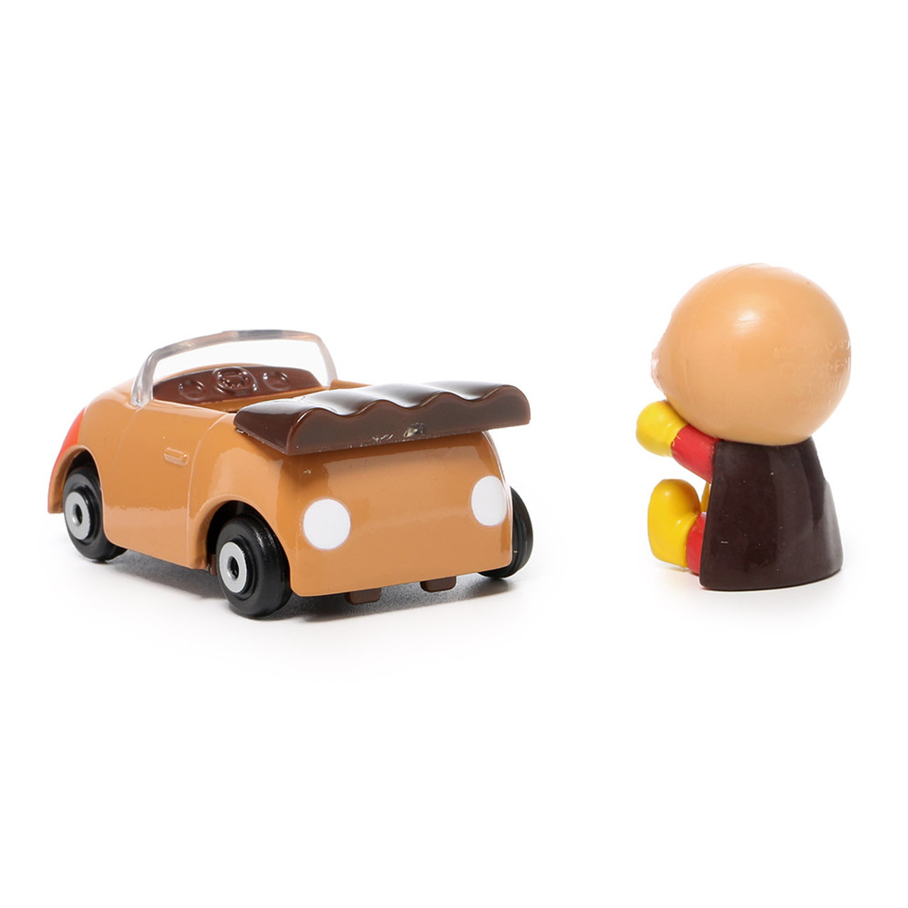 Sega Toys Anpanman Museum Go Go Mini Vehicle Carry Hero - Anpanman Roadster ( Roadster Back )