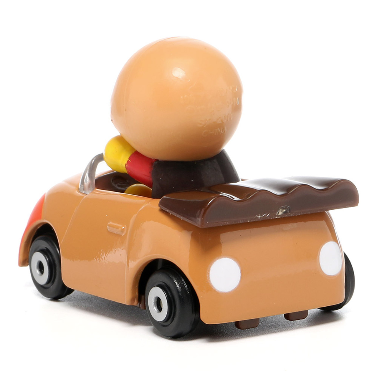 Sega Toys Anpanman Museum Go Go Mini Vehicle Carry Hero - Anpanman Roadster ( Back View )