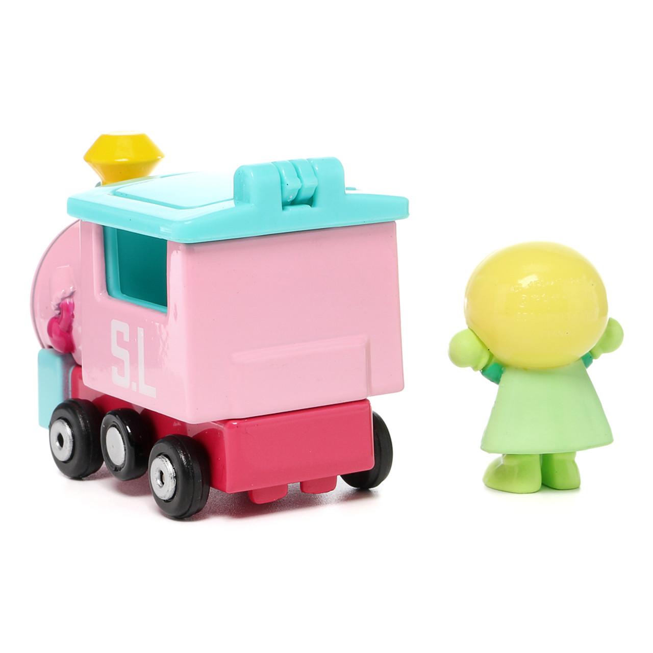 Sega Toys Anpanman Museum Go Go Mini Vehicle Carry Hero - Melonpanna Poppo train ( Melonpanna Poppo Back )