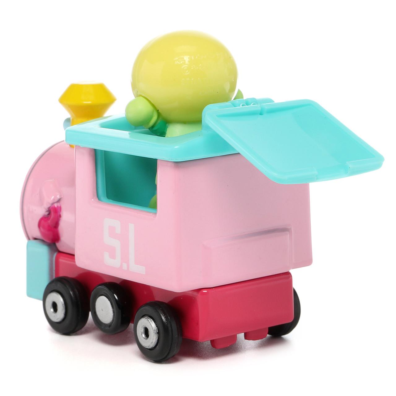 Sega Toys Anpanman Museum Go Go Mini Vehicle Carry Hero - Melonpanna Poppo train ( Back View )
