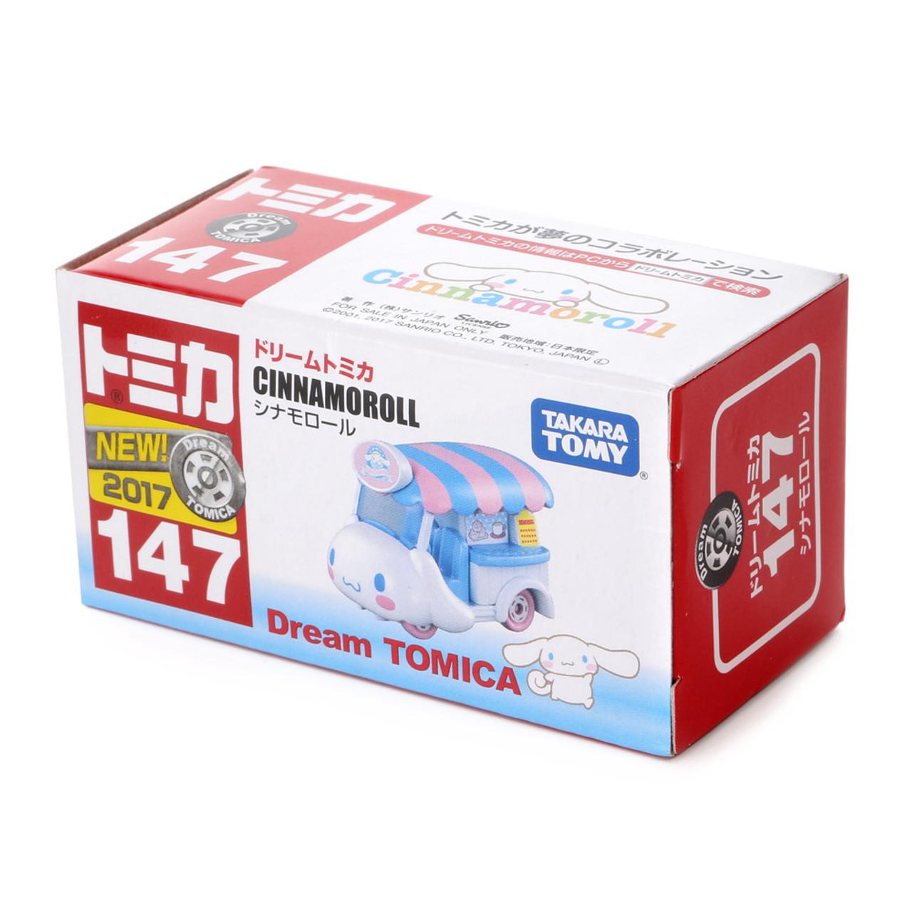 Tomica Sanrio Cinnamoroll Big Ears Dog Mini Food Truck Toy Car ( Complete Packing )