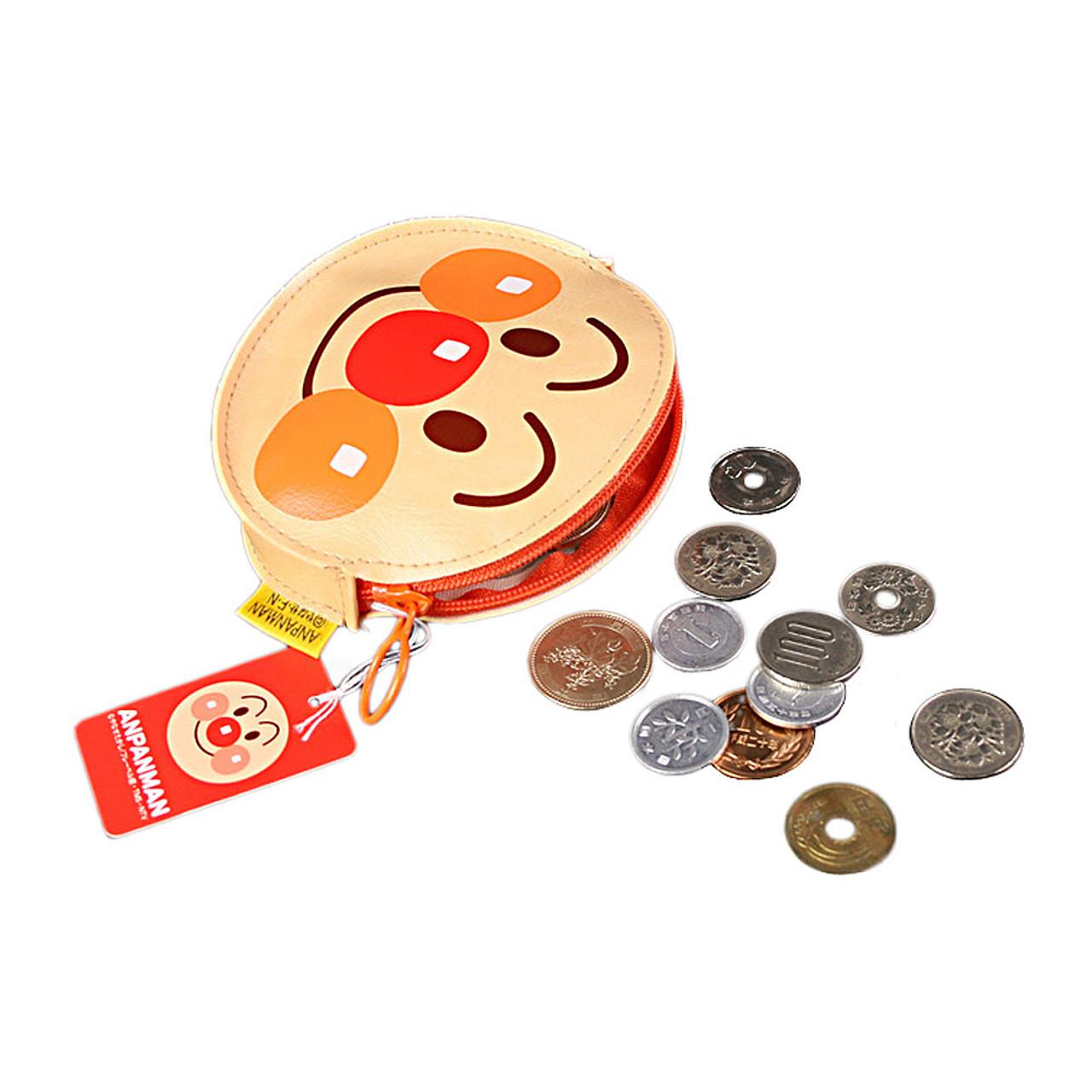 Japan Anime Cartoon Anpanman Hero Face Artificial Leather Coin Purse ( Feature 01 )