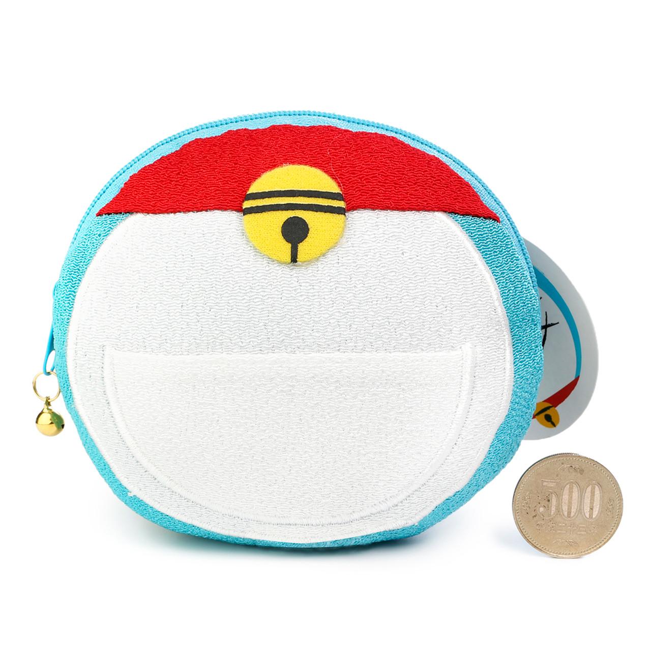 Doraemon Magic Stuffs Pocket Design Smart Card And Coins Wallet ( Front View & Proportion )