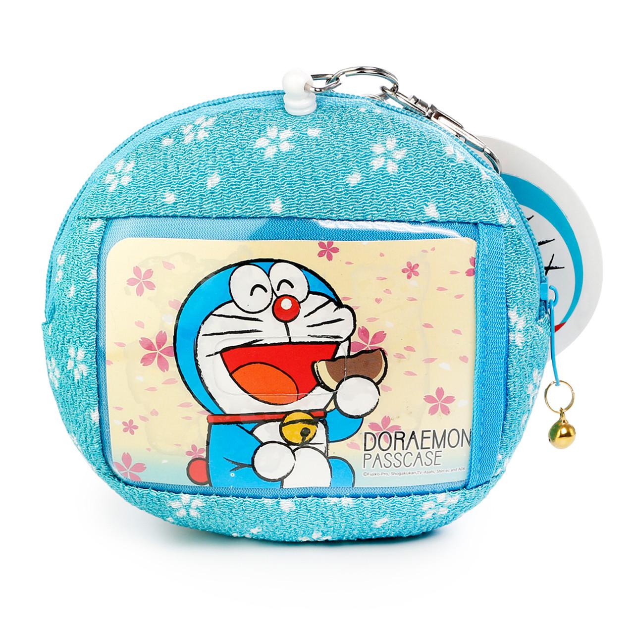 Doraemon Magic Stuffs Pocket Design Smart Card And Coins Wallet ( Back View )