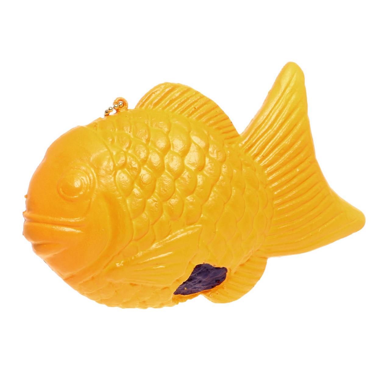 NIC Taiyaki Fish Shaped Cake Squishy Toy Charm ( Front View )